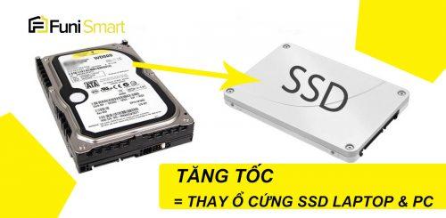 Thay ổ cứng ssd cho Laptop và PC